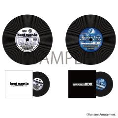 beatmania&beatmania IIDX レコード型コースターセット