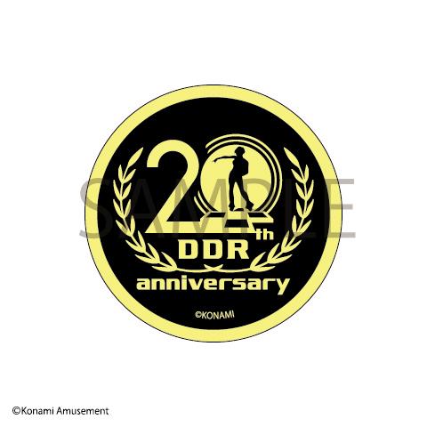 DanceDanceRevolution 20th Anniversary ワッペン